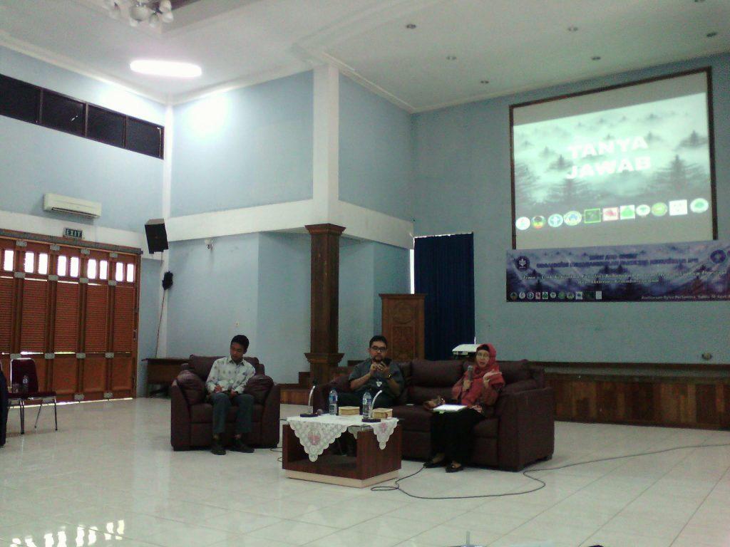 Meet and Greet Fakultas Kehutanan IPB