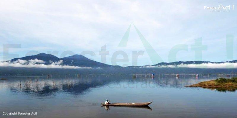 Danau Kerinci Taman Nasional Kerinci Seblat