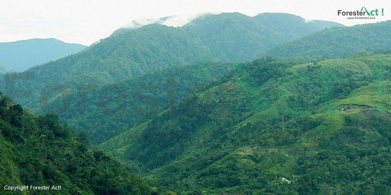 Gunung Leuser di Taman Nasional Gunung Leuser