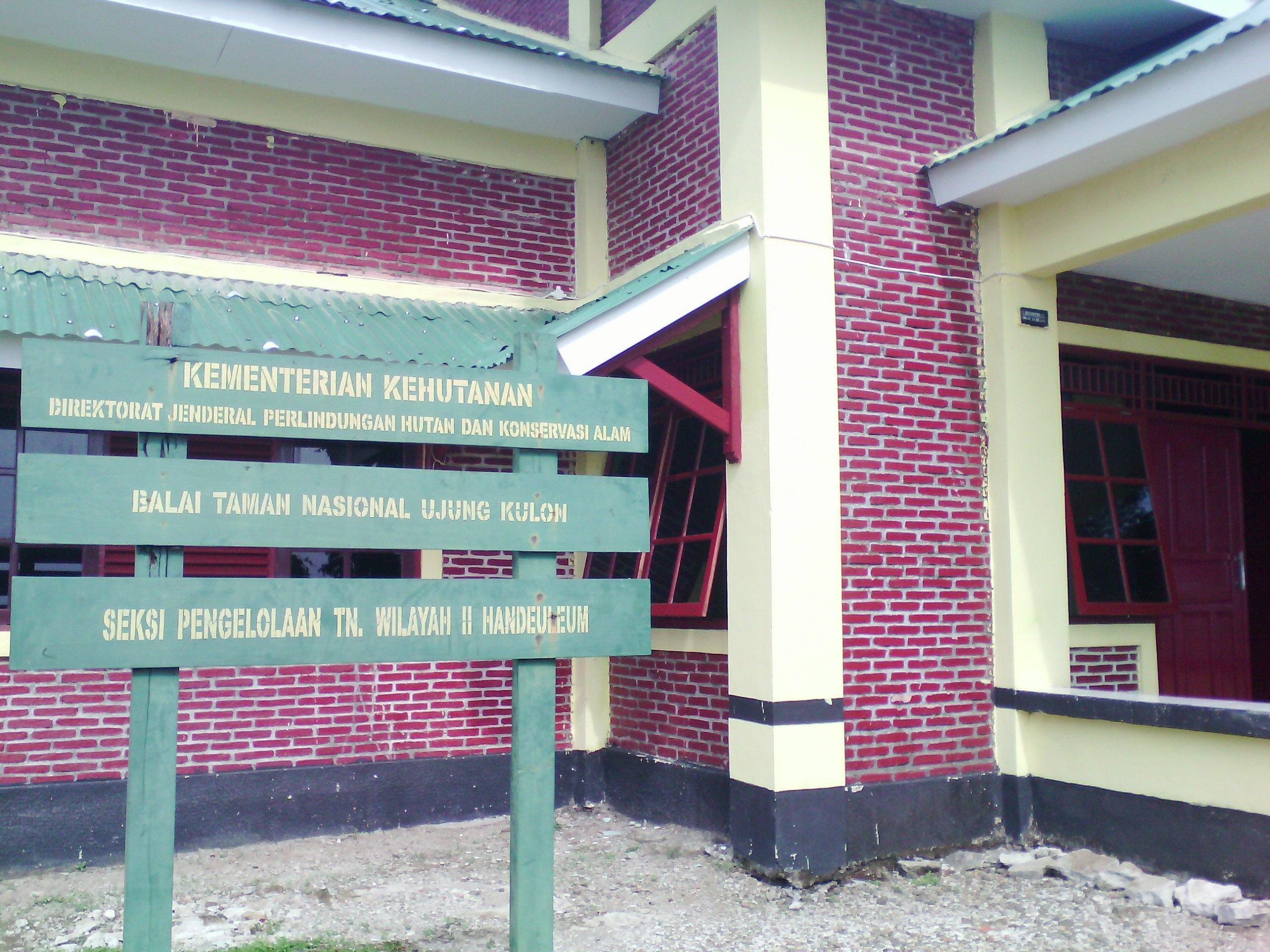 Balai Taman Nasional Ujung Kulon Seksi Handeuleum