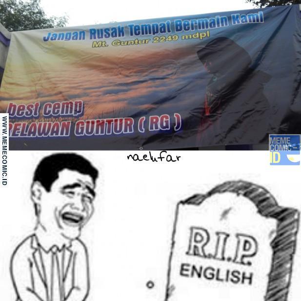 Goodbye English