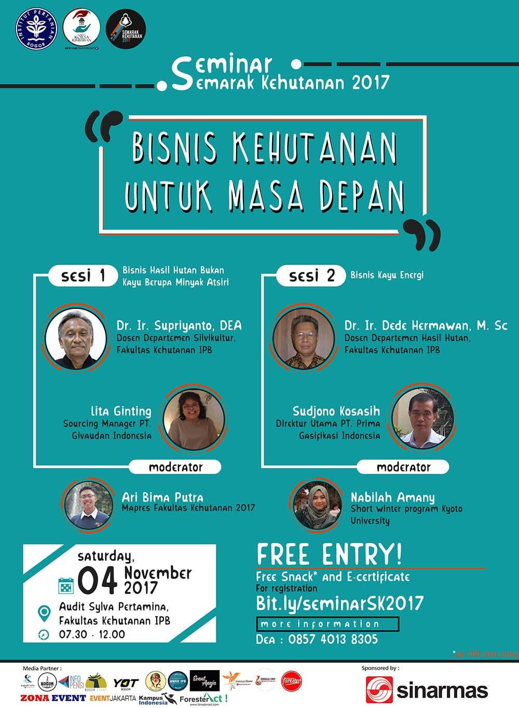 Poster Seminar Semarak Kehutanan