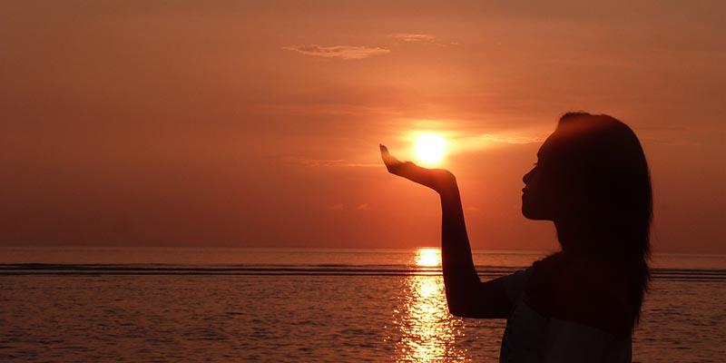 Sunrise di Bali