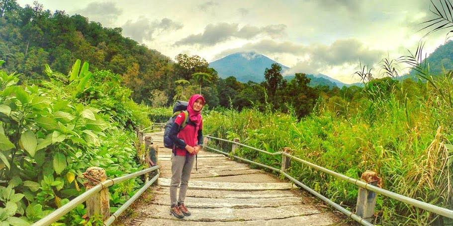 Rawa Gayonggong di Trek Pendakian TNGGP