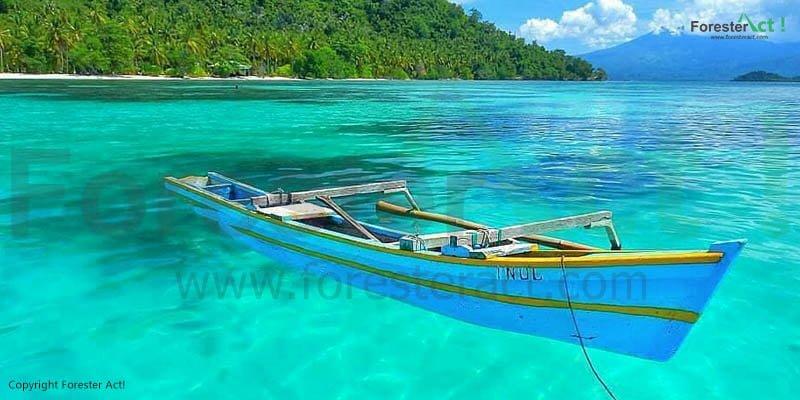Kejernihan Air Laut Pulau Pahawang