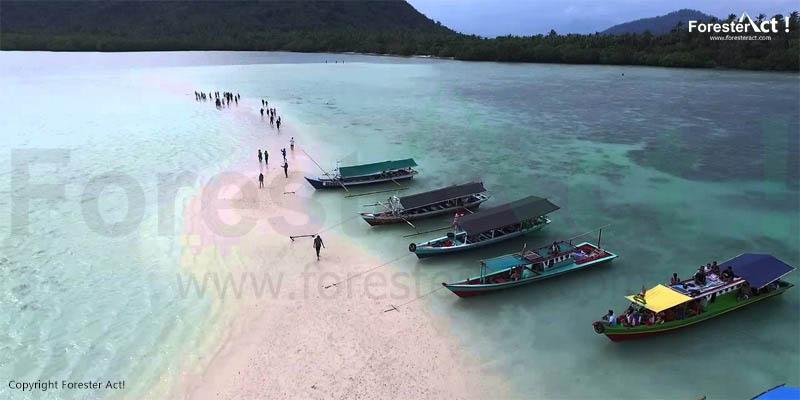 Pulau Pahawang via 45.m3.co.id
