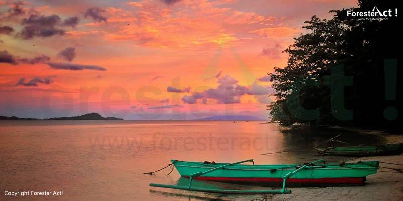 Senja di Pulau Pahawang