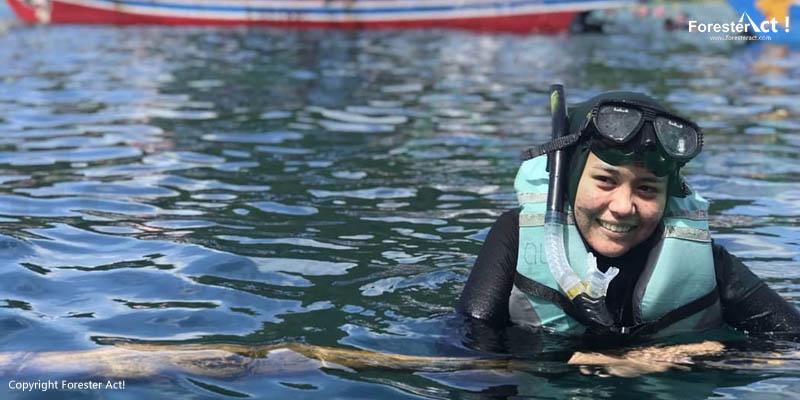 Snorkeling di Laut Pahawang