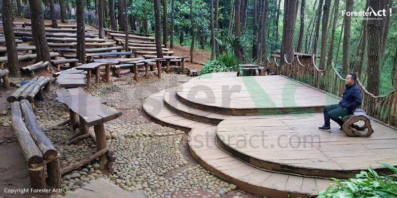 Teater Musik di Hutan Pinus Imogiri