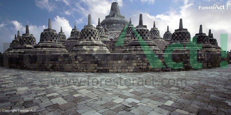 Candi Borobudur menjadi Salah Satu View dari Punthuk Setumbu