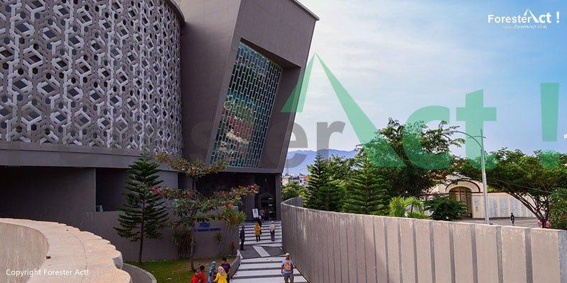 Foto Museum Tsunami di Aceh