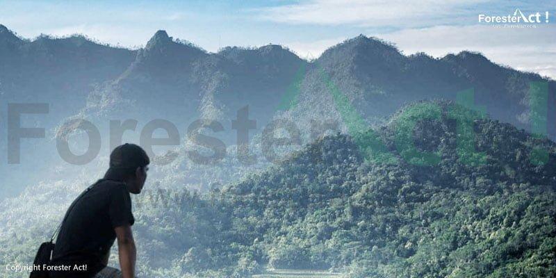 Pemandangan langit dan lansekap dari Punthuk Setumbu