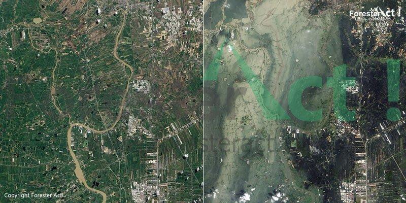 Perbandingan Keadaan Pra dan Pasca Tsunami