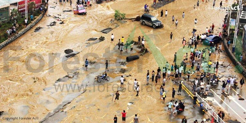 Banjir Bandang di Tiongkok