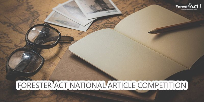Forester Act National Article Competition