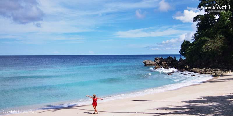 Laut Indah Khas Pantai Sumur Tiga di Sabang Aceh