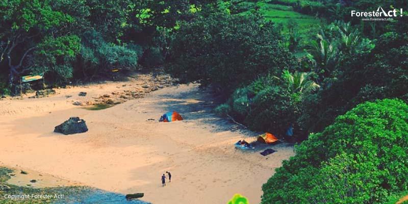 Pasir Elok di Pantai Ngitun