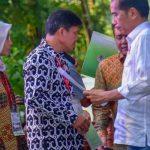 Pembagian SK Perhutanan Sosial di Sumatera Selatan