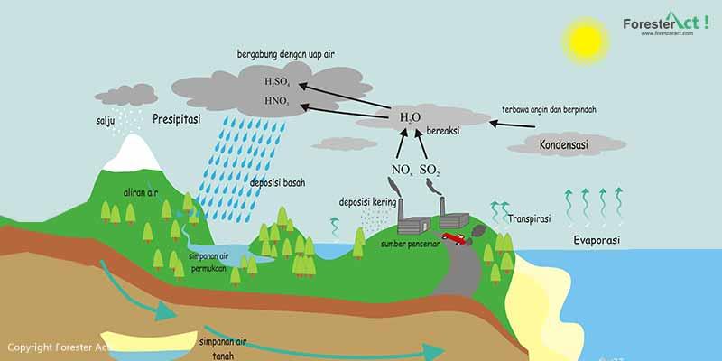 Tahapan Siklus Air di Bumi