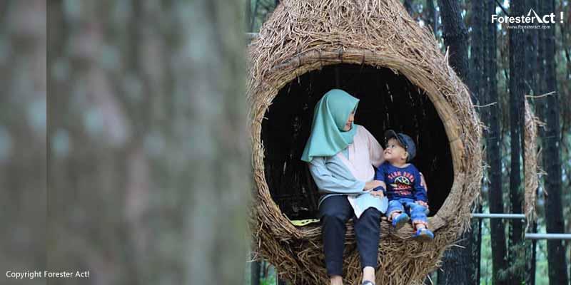 Bermain dengan Sang Buah Hati di Lokasi Wisata Alam Bogor
