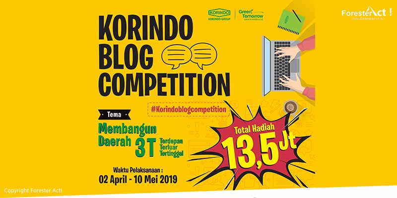 Korindo Blog Competition