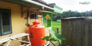 Pemanen Air Hujan sebagai Inovasi Penyediaan Air Bersih