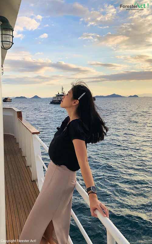 Perjalanan Laut menuju Labuan Bajo