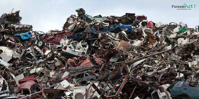 Timbunan Sampah Anorganik
