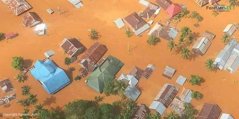 Banjir Bandang Menenggalamkan Permukiman
