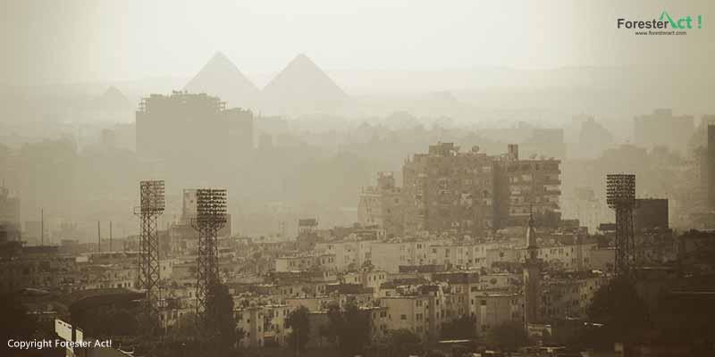 Kota Kairo yang Terpapar Polusi Udara