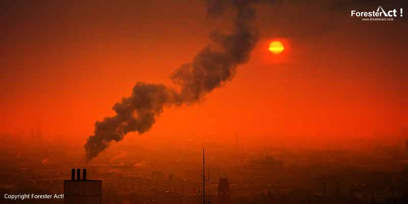 Kualitas Udara yang Buruk Akibat Pencemaran