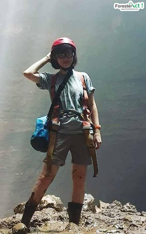 Caving di Gua Jomblang