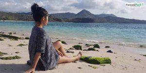 Bersantai di Pantai Maluk (instagram.com)
