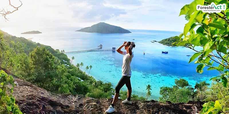 Lansekap Pulau Bawah Anambas (instagram.com)