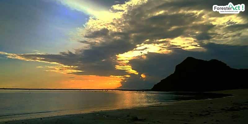Sunset di Pantai Maluk (instagram.com)