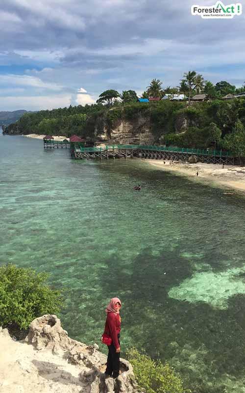 Keindahan Pantai Dato Majene (instagram.com)