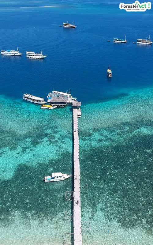 Laut Sebening Kaca Labuan Bajo (instagram.com)