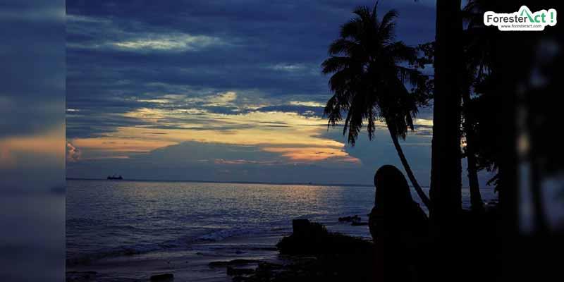Senja di Pantai Batu Lamampu (instagram.com)