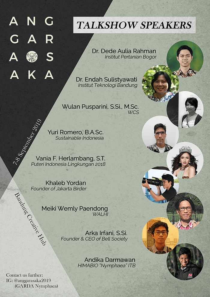 Talkshow Speakers Anggarasaka 2019