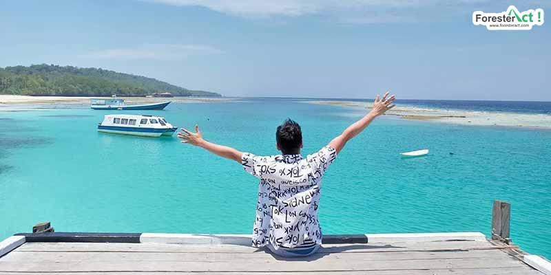 Keindahan Pantai Pulau Derawan (instagram.com)