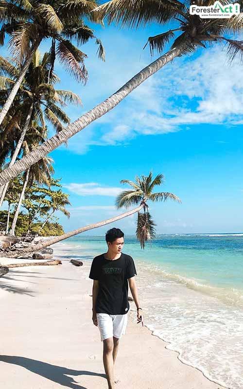 Menikmati Suasana Pantai (instagram.com)