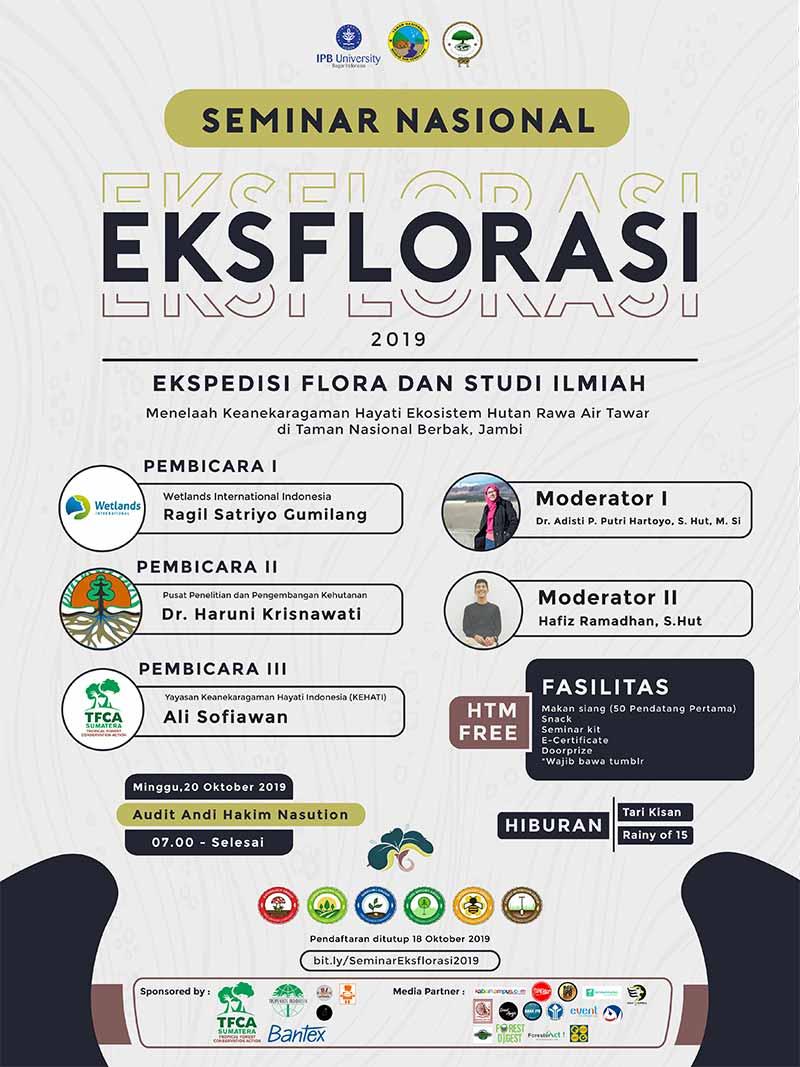 Poster Eksflorasi 2019