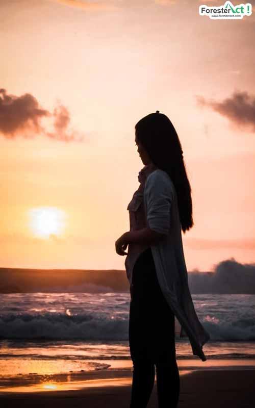 Sunset di Pantai Serang (instagram.com)