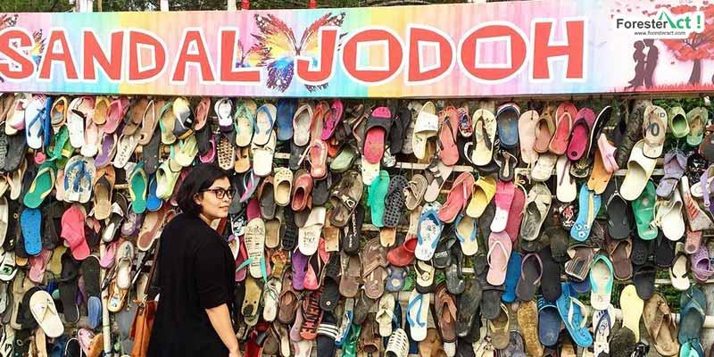 Susunan Sandal Jodoh (instagram.com)