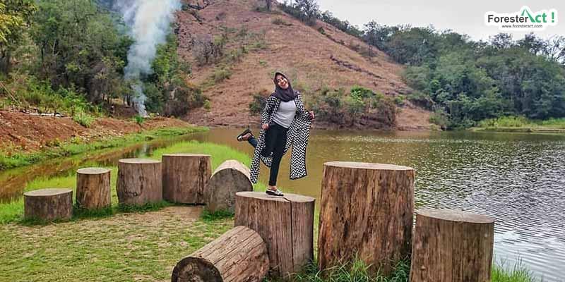 Berfoto di Telaga Claket (instagram.com)