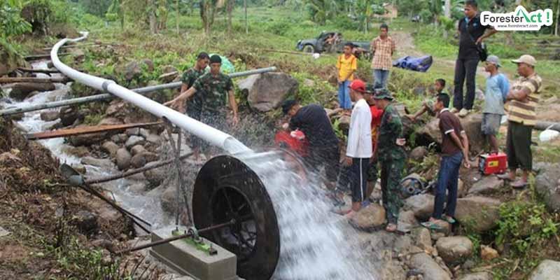 Pembuatan PLTMH di Indonesia