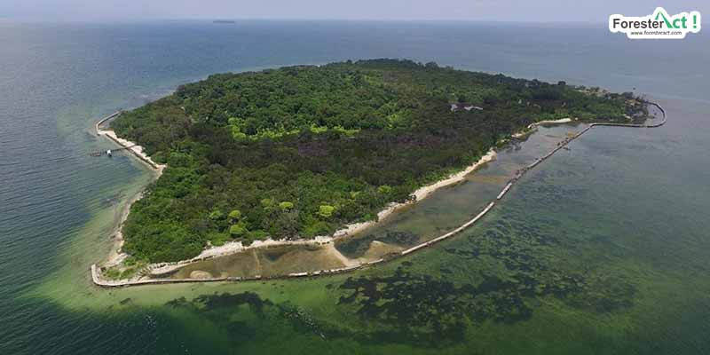 Pulau Rambut (instagram.com)