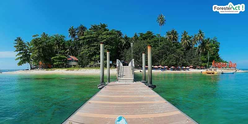 Keindahan Pulau Angso Duo (instagram.com)