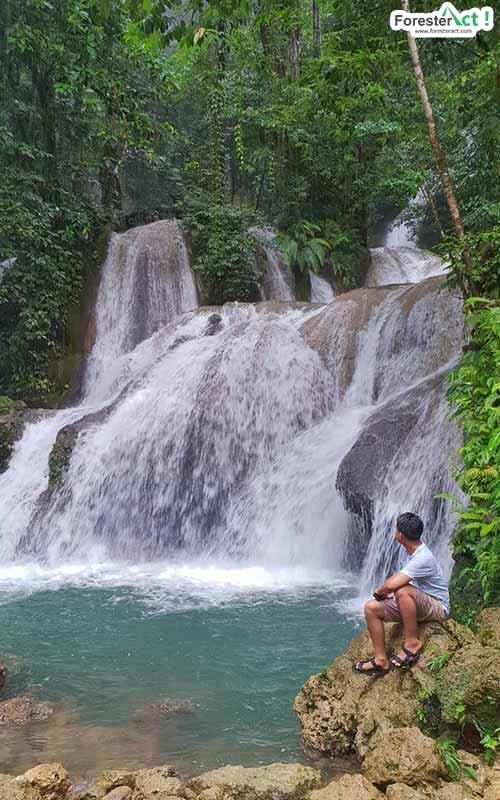 Keindahan Air Terjun Bihewa (instagram.com)