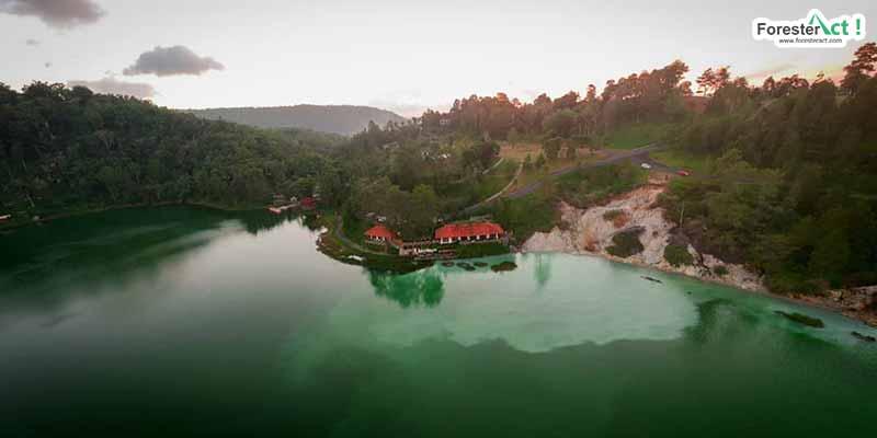 Pamandangan Danau Linow (instagram.com)